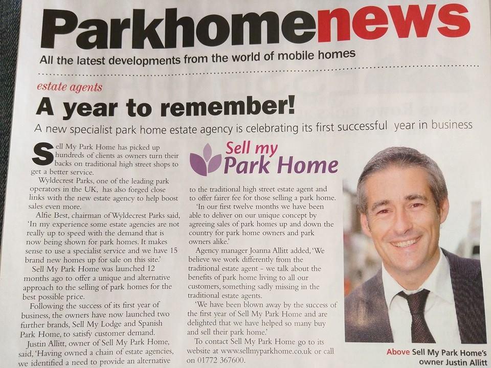 Park Home And Caravan Magazine
