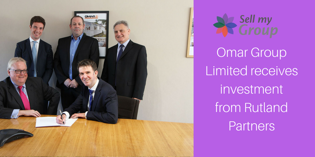 Omar Group Limited Receives Investment From Rutland Partners