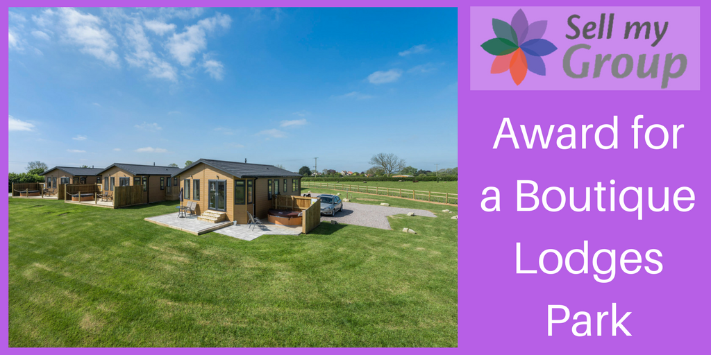 Award for New Oaks Farm Lodges