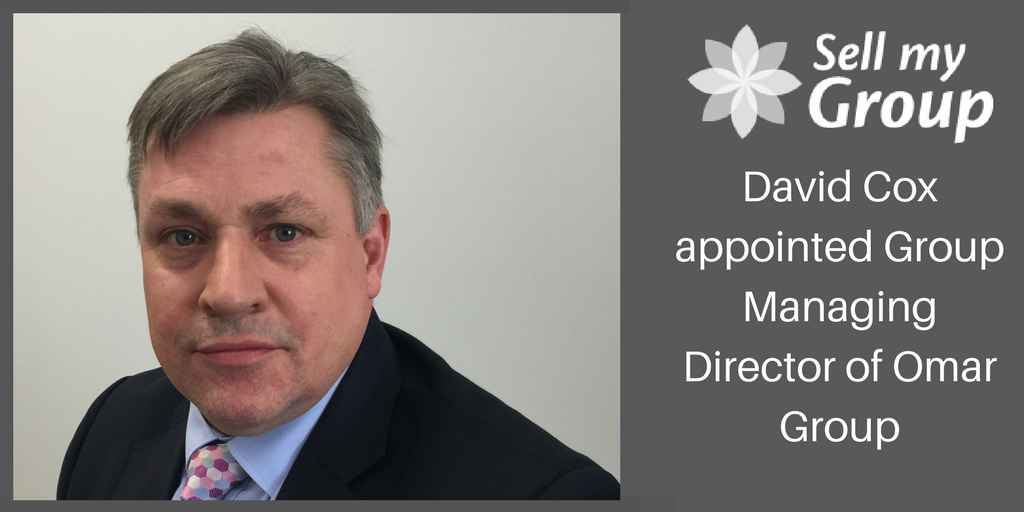 David Cox appointed Group Managing Director of Omar Group