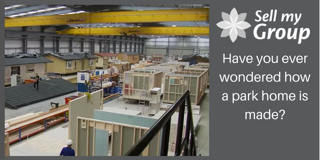 How are park homes made?
