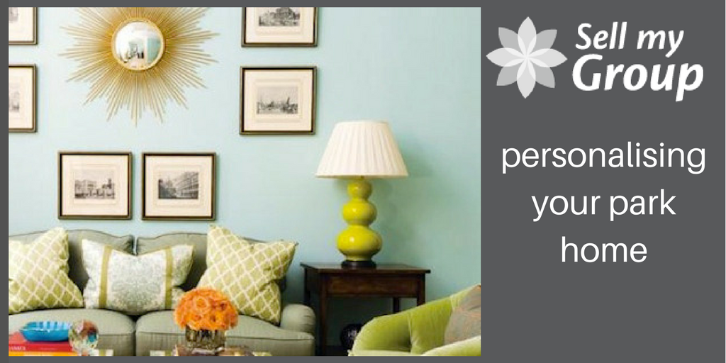 personalise your park home