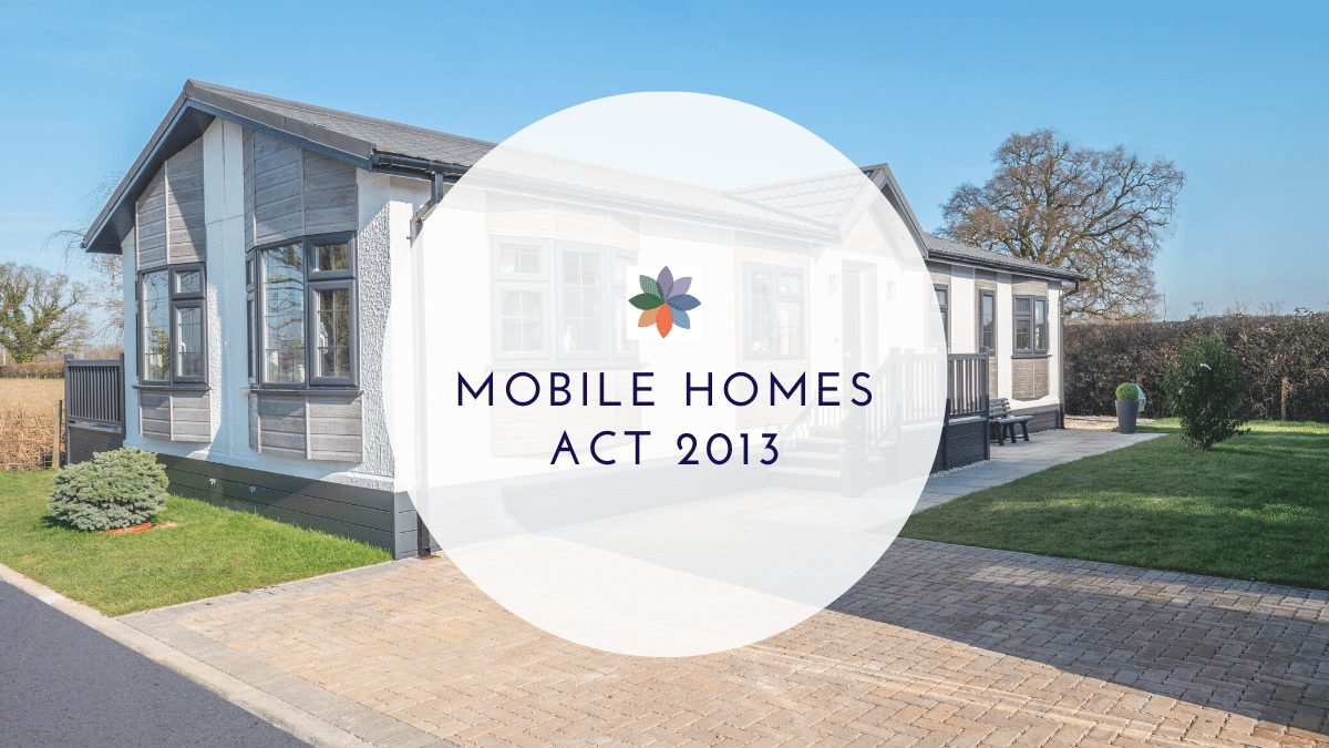 Mobile Homes Act 2013
