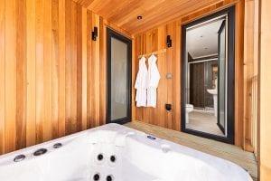 Prestige Homesseker Dovecote hot tub