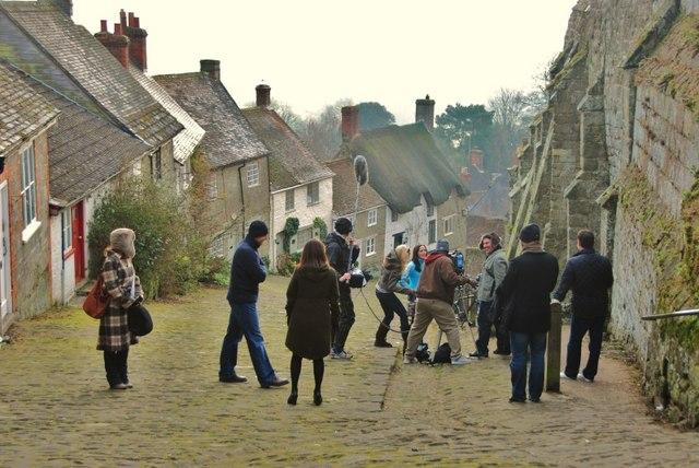 Filming in Dorset