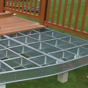 Decking and Skirting- A Subframe