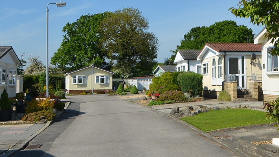Park homes in Leyland
