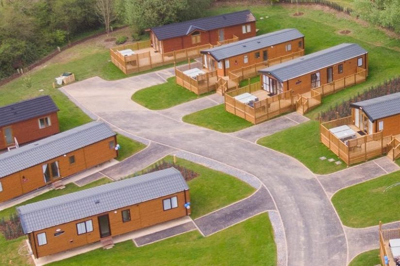 Holmans Wood Holiday Park, Harcombe Cross