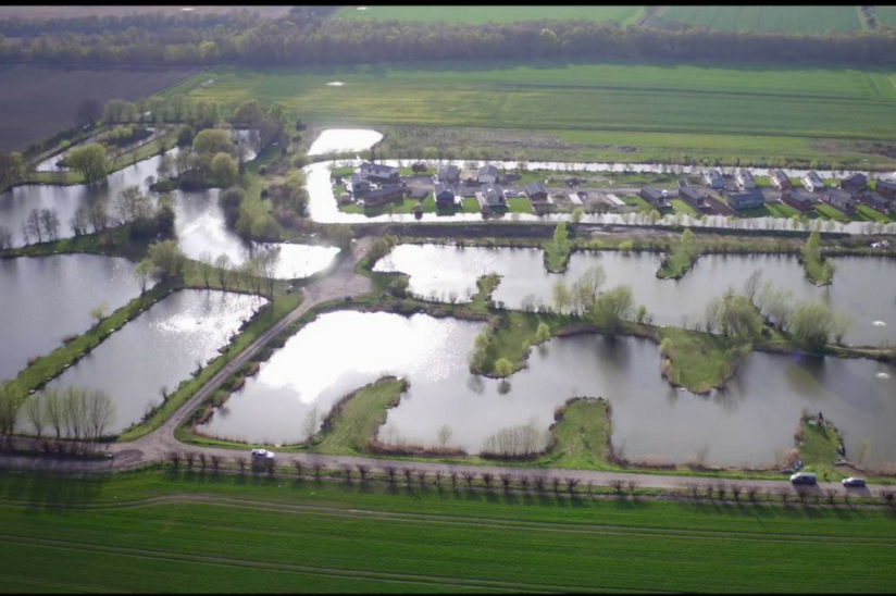 Lindholme Lakes, Epworth showing fishing lakes