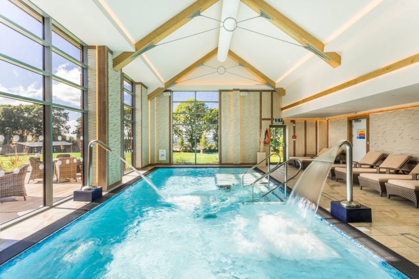Hawkchurch Resort and Spa, Axminster swimming pool
