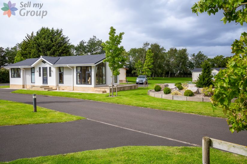 Cleveland Hills View Holiday Park, Yarm, North Yorkshire,