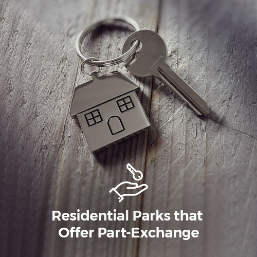 Residential Parks that Offer Part-Exchange
